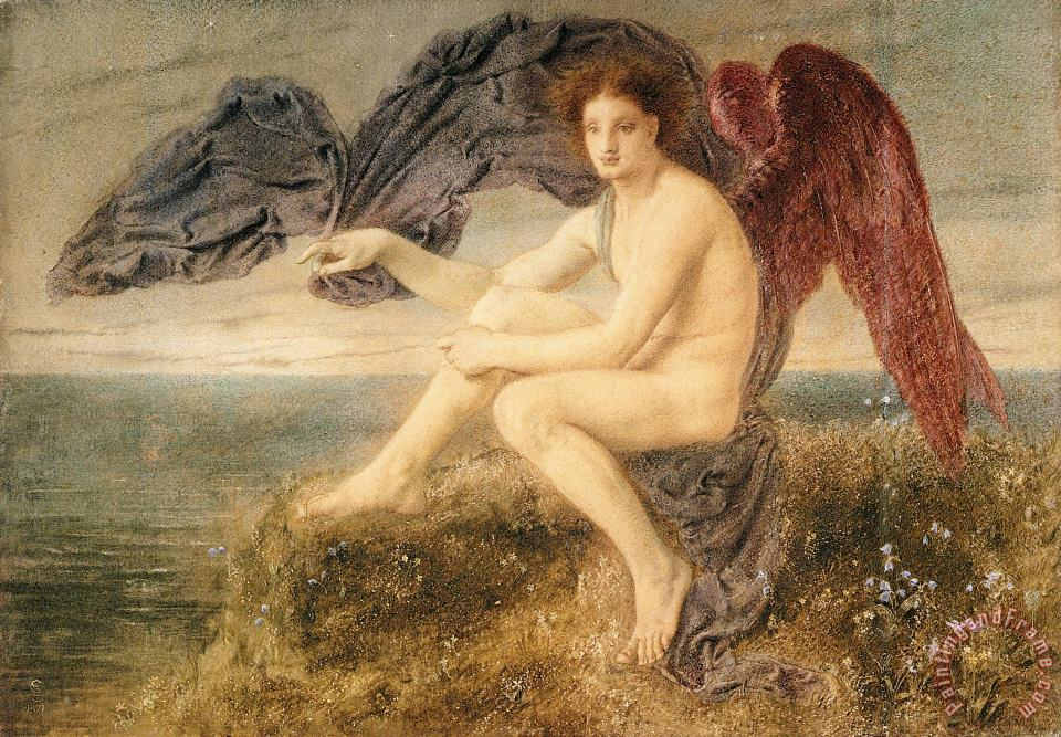 Simeon Solomon Dawn Art Painting