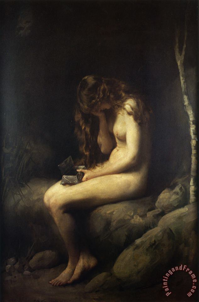 Thomas Benjamin Kennington Pandora Art Print