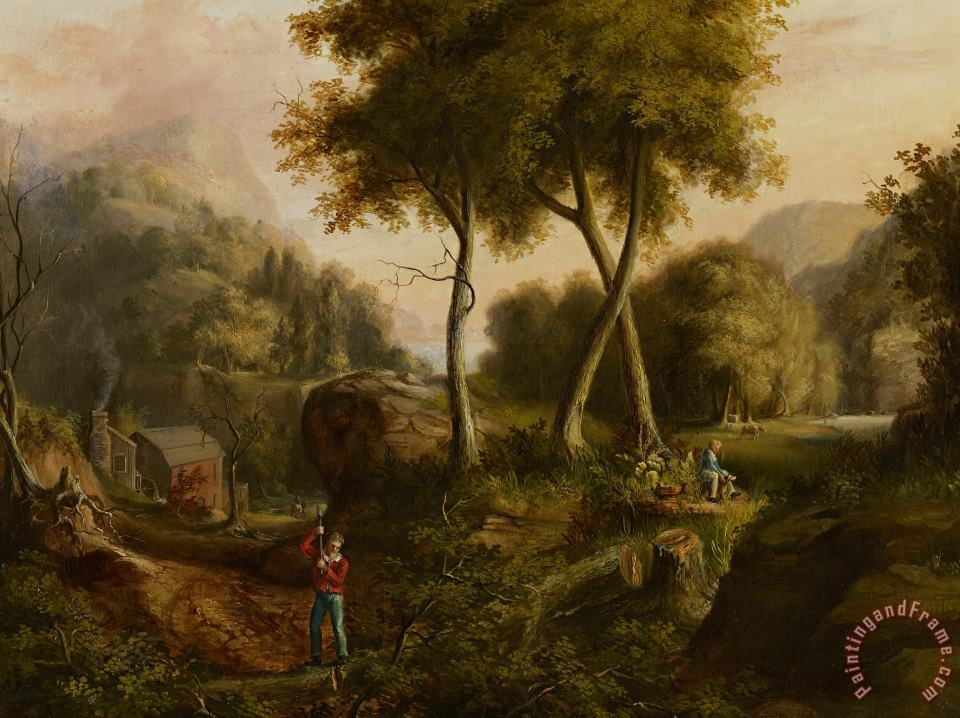 Thomas Cole Landscape Art Print