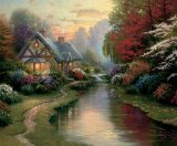 A Quiet Evening by Thomas Kinkade