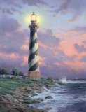 Cape Hatteras Light by Thomas Kinkade