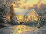 Christmas Cottage by Thomas Kinkade