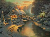 Christmas Evening by Thomas Kinkade