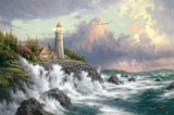 Conquering The Storms by Thomas Kinkade