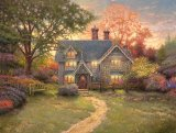 Gingerbread Cottage by Thomas Kinkade