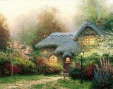 Heather's Hutch by Thomas Kinkade