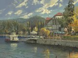Lake Arrowhead by Thomas Kinkade