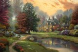 Lakeside Manor by Thomas Kinkade