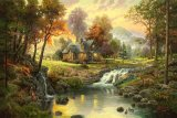 Mountain Retreat by Thomas Kinkade