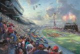 Nascar Thunder by Thomas Kinkade