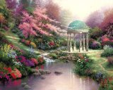 Pools of Serenity by Thomas Kinkade