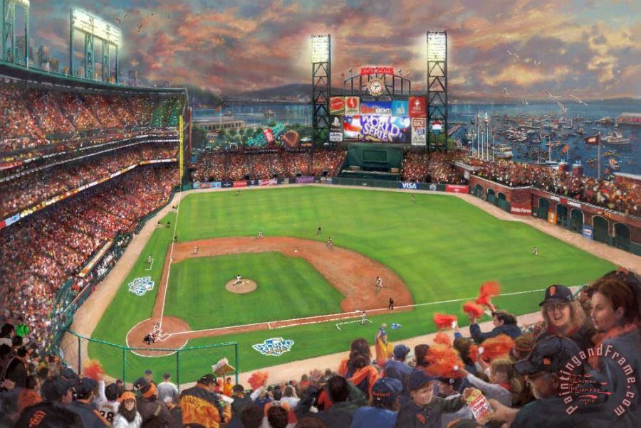 San Francisco Giants, It's Our Time painting - Thomas Kinkade San Francisco Giants, It's Our Time Art Print