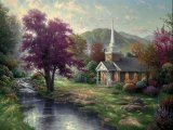 Streams of Living Water by Thomas Kinkade
