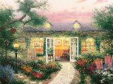 Studio in The Garden by Thomas Kinkade