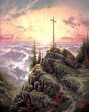 Sunrise by Thomas Kinkade