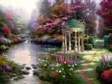 The Garden of Prayer by Thomas Kinkade
