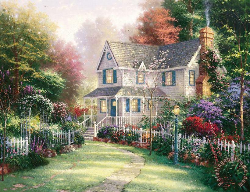 Thomas Kinkade Victorian Garden Ii