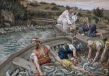 The First Miraculous Draught of Fish by Tissot