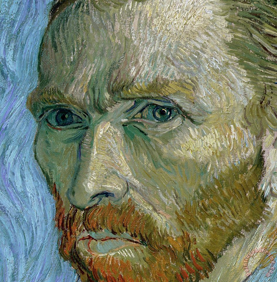 Vincent Van Gogh Self-portrait Art Print