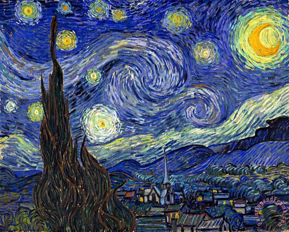 Vincent van Gogh Starry Night Art Print