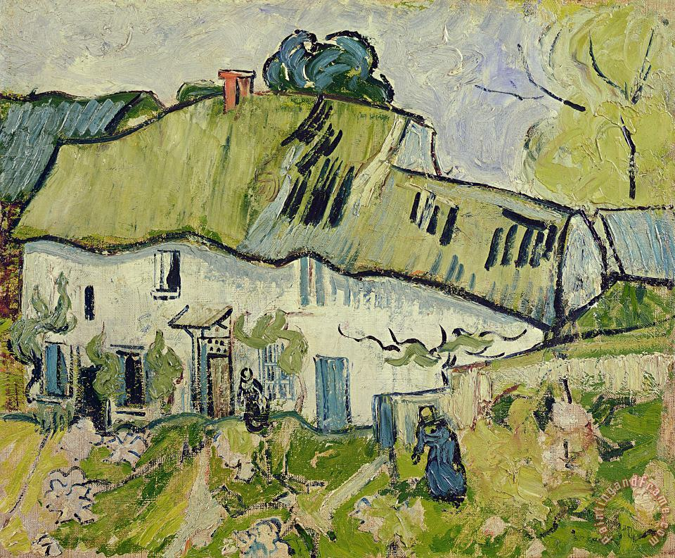 The Farm in Summer painting - Vincent van Gogh The Farm in Summer Art Print