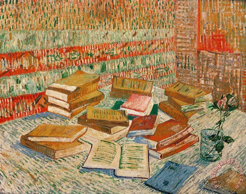 Αποτέλεσμα εικόνας για book and van gogh