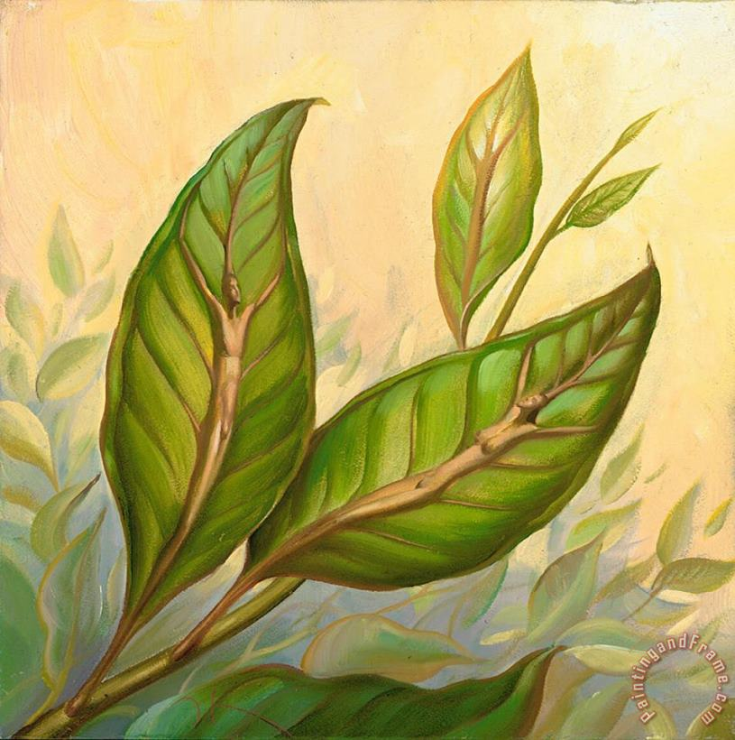 Vladimir Kush Leaves of One Tree Art Painting