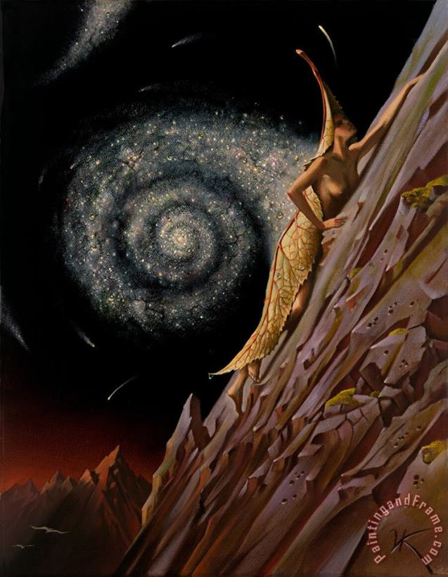 To The Top painting - Vladimir Kush To The Top Art Print