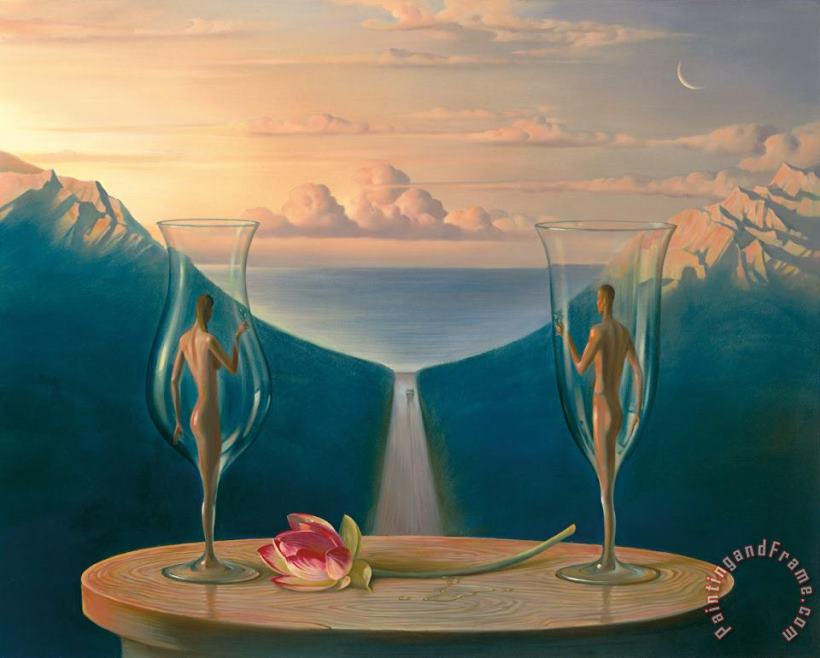 We Will Be Together painting - Vladimir Kush We Will Be Together Art Print