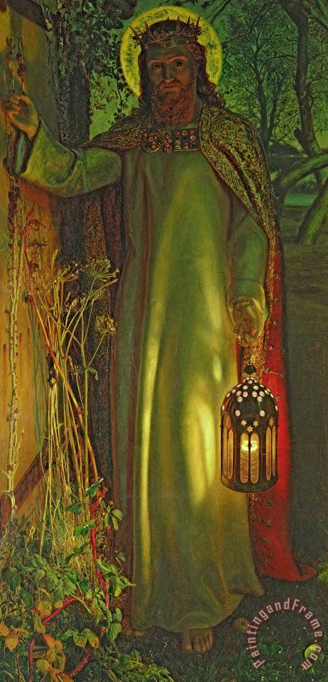 William Holman Hunt The Light of the World Art Painting