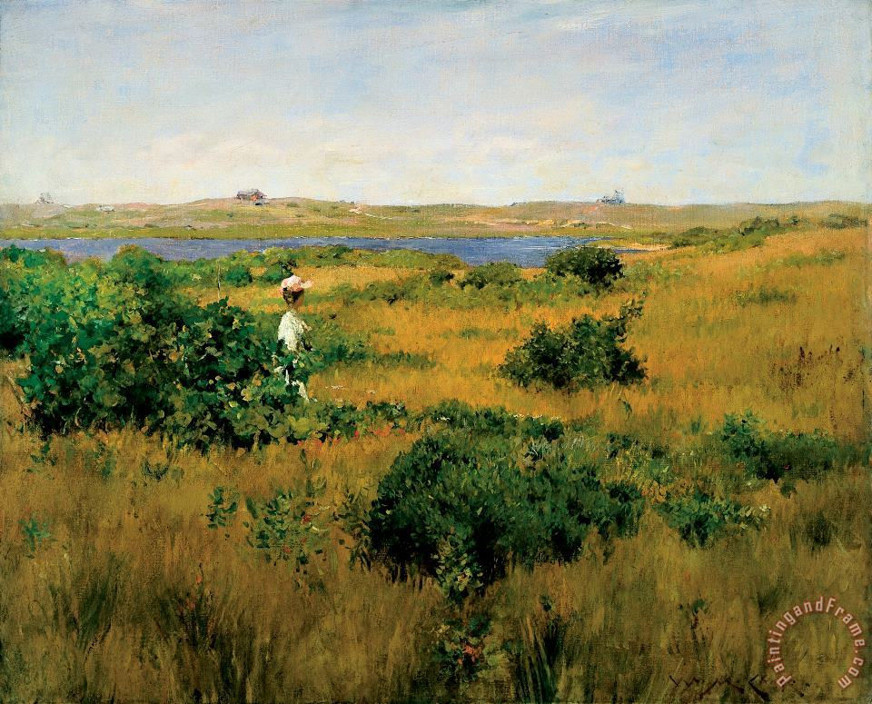 Summer at Shinnecock Hills painting - William Merritt Chase Summer at Shinnecock Hills Art Print