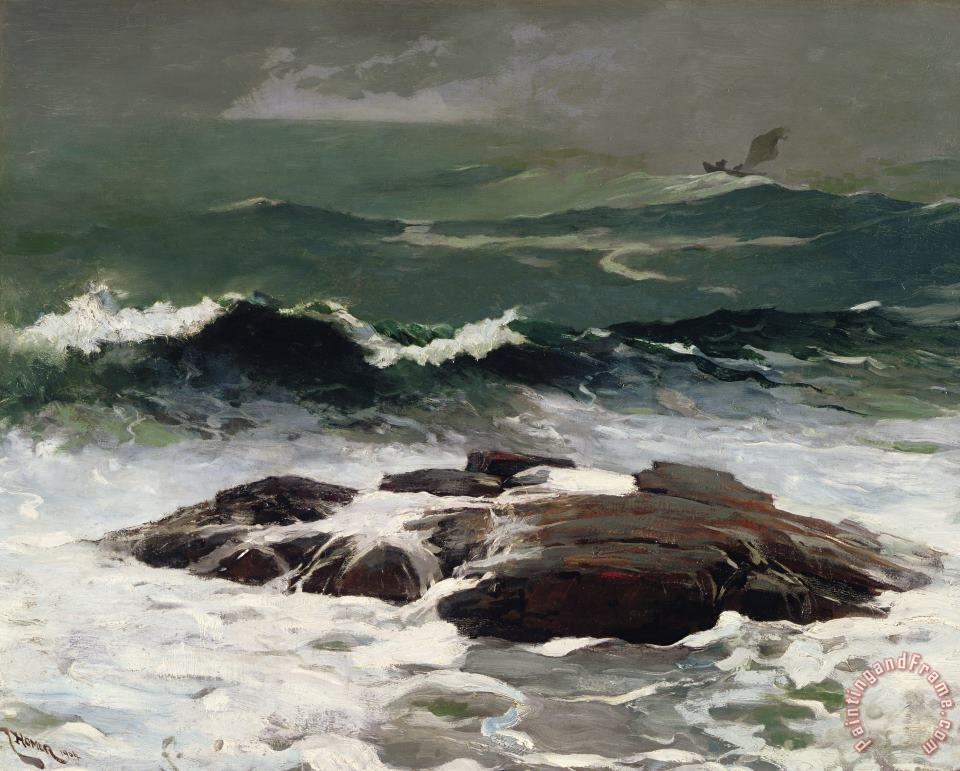 Summer Squall painting - Winslow Homer Summer Squall Art Print
