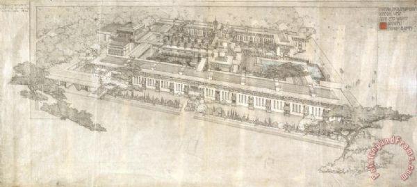 Frank Lloyd Wright Prints For Sale Paintingandframe Com