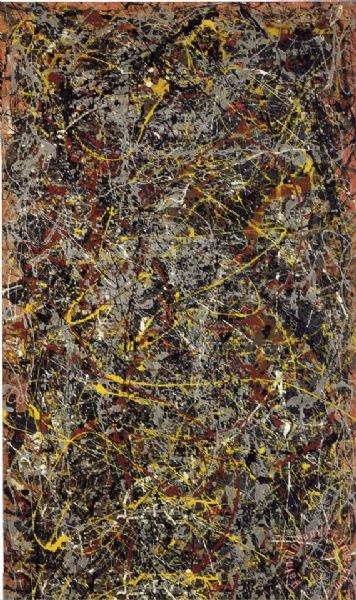 Jackson pollock prints for sale for Large prints for sale