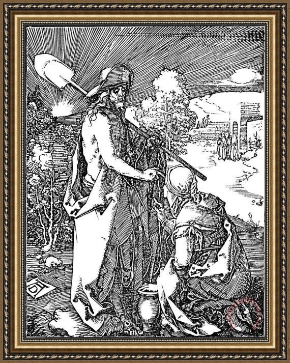 Albrecht Durer Little Passion Engraving Framed Print