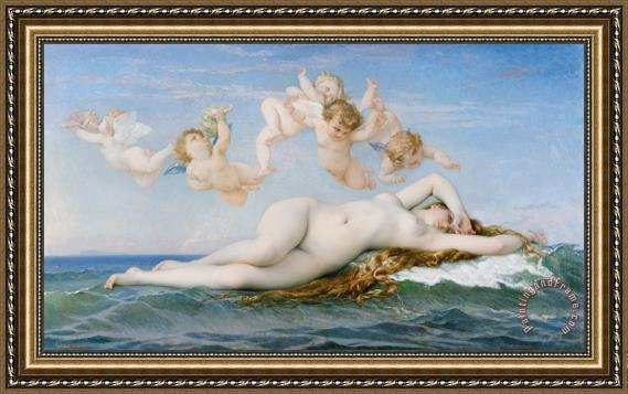 Alexandre Cabanel Birth of Venus Framed Print