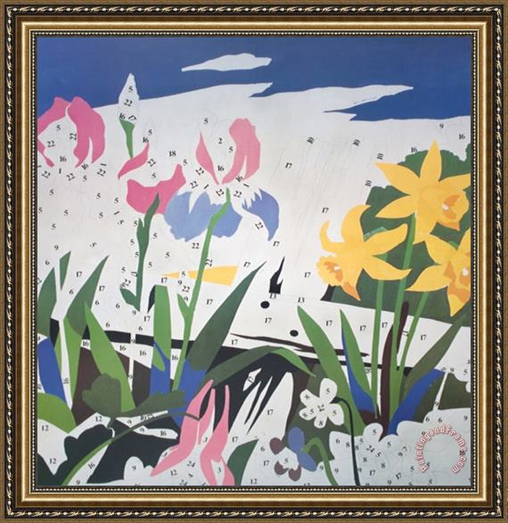 Andy warhol do it yourself flowers framed painting for sale andy warhol do it yourself flowers framed painting solutioingenieria Image collections