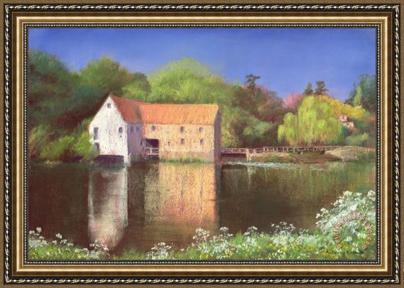 Anthony Rule Springtime at the Mill Framed Painting