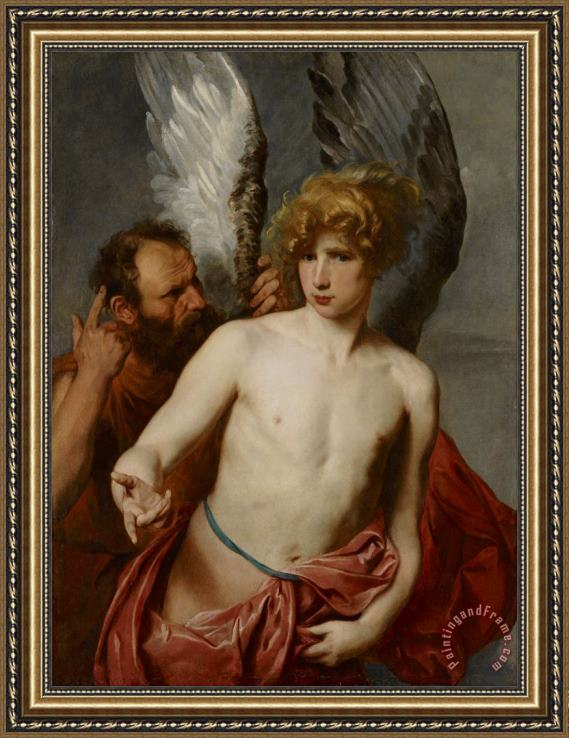 Anthony van Dyck Daedalus And Icarus Framed Print