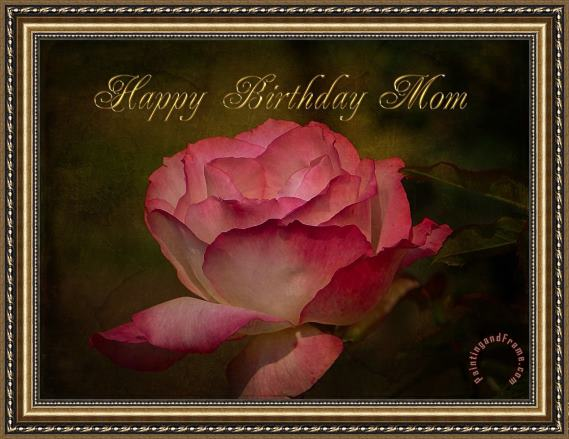 Blair Wainman Happy Birthday Mom Framed Print