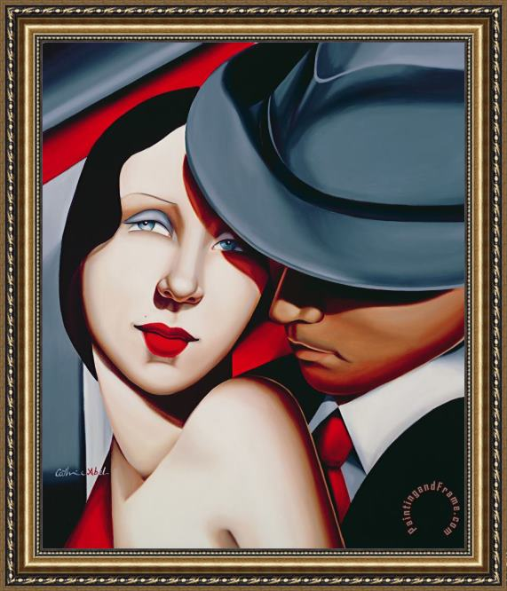 Catherine Abel Adam and Eve Framed Print