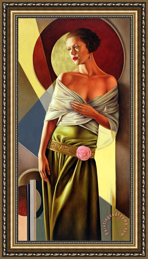 Catherine Abel Reflections of Grace Framed Painting