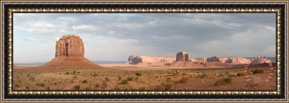Collection 6 Monument Valley Panorama Framed Print