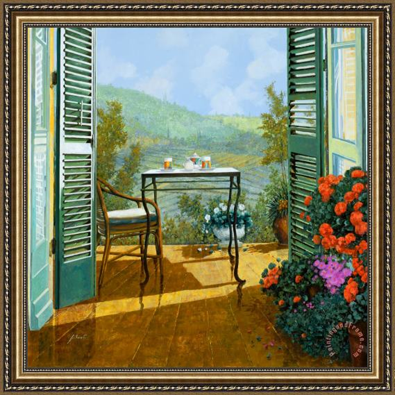 Collection 7 Alle Dieci Del Mattino Framed Print