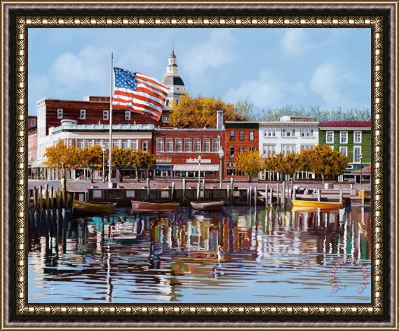 Collection 7 Annapolis Framed Print