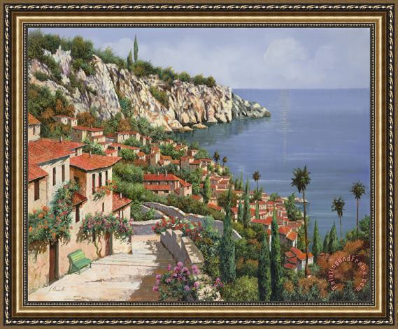 Collection 7 La Costa Framed Print