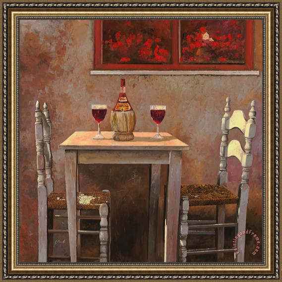 Collection 7 un fiasco di Chianti Framed Print