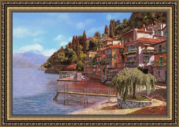 Collection 7 Varenna on Lake Como Framed Print
