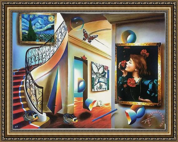 Collection Ferjo Timeless Beauty Framed Painting