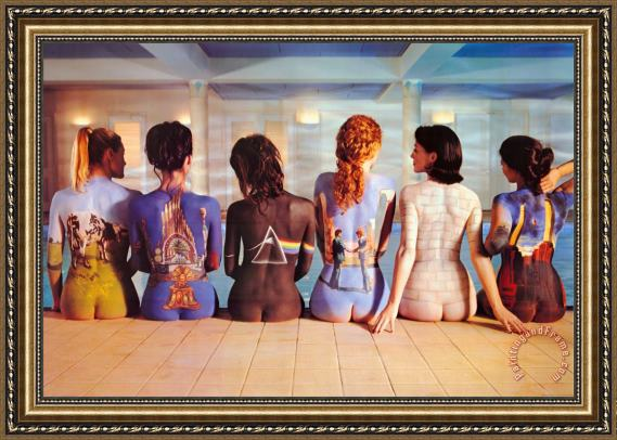 Collection Pink Floyd Back Catalogue Framed Painting
